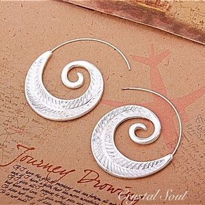 Just In🎉Bohemian Spiral Shaped Earrings